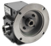 WORM GEARBOX, 1.75IN, 10:1 RATIO, 56C-FACE INPUT, HOLLOW SHAFT OUT -- WG-175-010-H - Image