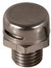 Dome Vent Plug, M12 thread, SS -- RVP15-M12-SS - Image