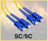 SC-SC Terminated Fiber Optic Cable