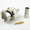 75 Ohm BNC Male Connector Crimp/Solder Attachment For RG179, RG187 Cable -- SC6034 -Image
