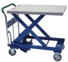Heavy Duty Manual Mobile Lift Tables
