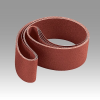 3M 202DZ Coated Aluminum Oxide Sanding Belt - P150 Grit - 3 in Width x 90 1/2 in Length - 40132 -- 051125-40132 -- View Larger Image