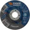 4-1/2 x 1/8 TIGER ALUMINUM Type 27 Cut/Grind Combo Wheel ALU30T 7/8 A.H. -- 58215 - Image