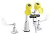 Faucet-Mounted Eyewash Station,w/Handles -- 3RVT1
