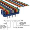 Rectangular Cable Assemblies -- C2RXS-1636M-ND -Image