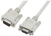 Premium Molded D-Sub Cable, HD15 Male / Female, 2.5 ft -- HAD00011-205F -Image