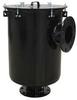 Vacuum Filter,10 Flange,2900 Max CFM -- 5JRD7