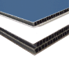 Econolite Corrugated Plastic with 1-sided Finished Aluminum