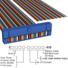 Rectangular Cable Assemblies -- C1DXG-4036M-ND -Image