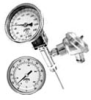 TIR Series Bi-Metal Thermometer with Integral RTD or Thermocouple -- View Larger Image
