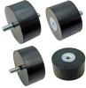 Cylindrical Vibration Mount - Sorbothane Type (Inch) -- V10Z59-MB2517570