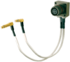 Size 11 Quad Rec to Socket R/A Twinax -- 029901-0100