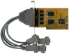 Dual Port RS-232, PCI-Bus Serial Communications Card -- PCI-COM232/2