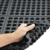 NoTrax Cushion-Ease® Safety/Anti-Fatigue Mat – (Wet/Dry) - 3ft x 5ft - Black -- MT-C35BK