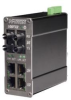 106FX2 MDR Unmanaged Industrial Ethernet Switch, ST 2km -- 106FX2-ST-MDR