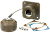 Category 6, Flange Mount, Anodized finish with Mounting Hardware and Dust Cap -- T6C00022
