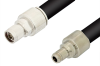 N Male to N Female Cable 36 Inch Length Using RG218 Coax -- PE34276-36 -Image
