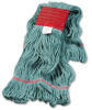 Super Loop Wet Mop Head, Cotton/Synthetic, Large Size, Green -- UNS503GN