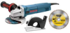 BOSCH 4-1/2 In. 7.5 A Small Angle Grinder Concrete Cutting -- Model# 18DC-4K