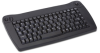 Adesso IR Wireless USB Keyboard with Trackball (Black) -- ACK-573UB