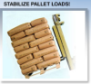 Skid-Lock Palletizing and Unitizing System
