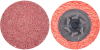 Merit AO Coarse Grit TP (Type I) Quick-Change Fiber Disc -- 69957399750 - Image