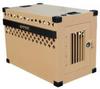 XL Stationary Dog Crate,40x23x28H,Alum -- 24Z171