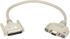 5FT KVM User Cable DB25 VGA PS2 With Audio -- EHN154A-0005 - Image