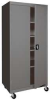 Mobile Storage Cabinet, Welded, Gray -- 5DCT1