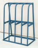 Vertical Storage Rack,48x24 In,5 ft,Blue -- 4LNY9