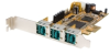StarTech.com 3 Port PCI Express 12V Powered USB Adapter.. -- PEX312PUSB
