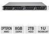 Acserva ARSA-1SMO1V11 1U Rackmount Server - AMD Opteron 6128 -- ARSA-1SMO1V11 - Image