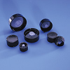 BOTTLE CAPS - Black Phenolic, Screw Caps, with Poly-Seal® Liner, LabBest, 13 - 425 -- 1143331