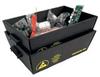 Protektive Pak Impregnated Corrugated Cardboard ESD / Anti-Static Nesting Tote 37623 - 27 1/4 in Length - 18 in Wide -- PROTEKTIVE PAK 37623