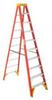 WERNER 10' Fiberglass step ladder, Type IA, 300lb load -- Model# 6210