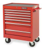 Rolling Tool Cabinet,27 Wx35 H,7 Drawer -- 1ZML7
