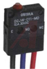 SWITCH,SNAP ACTION,IMMERSION-PROOF,SUBMINIATURE,PIN PLUNGER,MOLDED LEAD WIRES -- 70175504