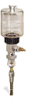 """(Formerly B1745-4X13), Manual Chain Lubricator, 9 oz Polycarbonate Reservoir, 1/4"""" Round Brush Stainless Steel -- B1745-009B1SR1W -- View Larger Image"""