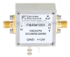 1.3 dB NF Low Noise Amplifier, Operating from 20 MHz to 1 GHz with 30 dB Gain, 18 dBm P1dB and SMA -- FMAM1051 - Image