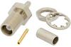 MCX Jack Bulkhead Mount Connector Crimp/Solder Attachment for RG178, .177 inch D Hole -- LCCN3038