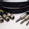 Flexygy 8Ch Flat Snake FLX XLRF-TRS 75' -- 208SNFLX-XFTRS-075