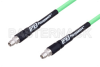 SMA Male to SMA Male with Reduced Diameter SMA Body Low Loss Test Cable 72 Inch Length Using PE-P300LL Coax, RoHS -- PE336-72 -Image