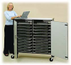 20 Laptop Storage Cart with Power Strip -- LAPTOP-20E