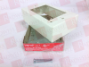 WIREMOLD V5747 ( WIREMOLD,V5747,SHALLOW DEVICE BOX, W/2 1/2 KNOCK-OUTS; 1 GANG,WHITE ) -Image