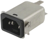 Power Entry Connectors - Inlets, Outlets, Modules - Filtered -- 486-1645-ND