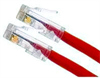 CORD CAT5E RED T568B 1 FT NB -- 26-203-12 -Image