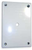 Security Wall Plate,White -- 3KT91