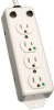 For Patient-Care Areas - 4-outlet Medical-Grade Power Strip with 2-ft. Cord -- PS-402-HG-OEM