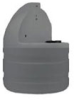 Stenner 15 Gallon UV Resistant Gray Tank for 45/85 Series Pumps -- STS15G