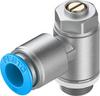 One-way flow control valve -- GRLA-1/4-QS-10-D -Image